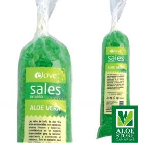 Sales de Baño de Aloe Vera