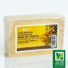 Jabón Nutritivo de Extracto de Baba de Caracol