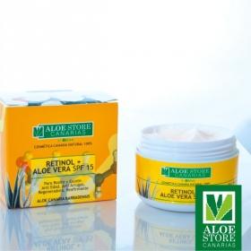 Crema Retinol & Aloe Vera SPF 15 ASC