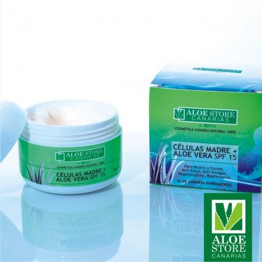 Crema de Celulas Madre de Aloe Vera ASC