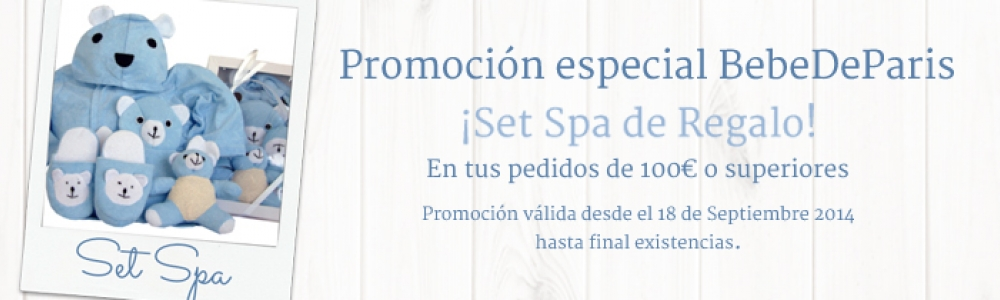 Promo Set Spa Sept 14 Azul