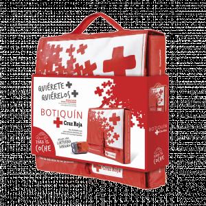 Botiquín para coche Cruz Roja