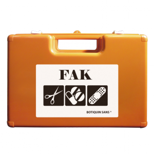 Maletín de emergencia FAK