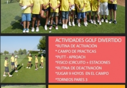 Campus de Pascua en Real Club de Golf Manises