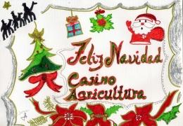 Resultado Concurso Tarjetas de Navidad del Casino de Agricultura