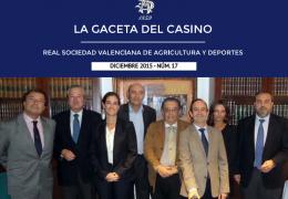 LA GACETA DEL CASINO DE AGRICULTURA - Nº17 - DICIEMBRE 2015