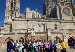 viaje socios del Casino de Agricultura a Valladolid Burgos Zamora