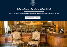 La Gaceta del Casino de Agricultura - Nº5 - FEBRERO 2014
