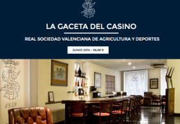LA GACETA DEL CASINO DE AGRICULTURA - Nº9 - JUNIO 2014