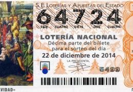 Sorteo de Navidad de lotería Nacional