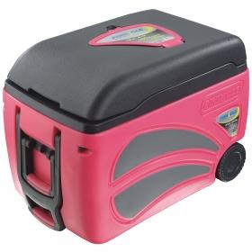 Nevera Portatil Pinnacle con ruedas 45 Litros- Rosa Bandas