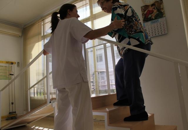 Fisioterapia y rehabilitación diaria