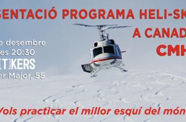 En Puigcerdá se va a hablar de Heli-ski