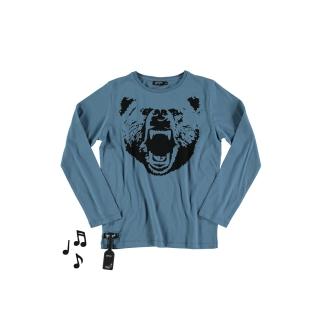 Bear Tee (blue)