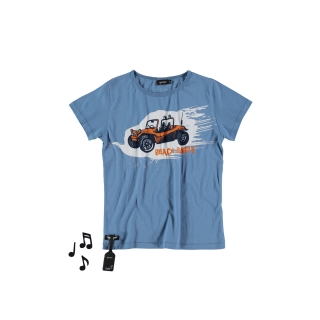 Buggy Tee (retro blue)