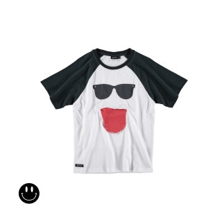Cool Pocket Raglan Tee (white)