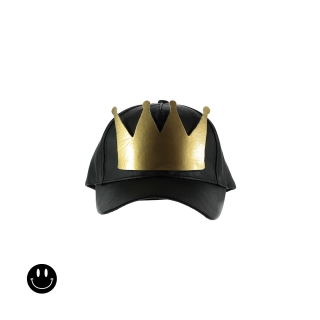 Crown Cap (false leather)