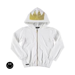 Crown Hoodie (white)