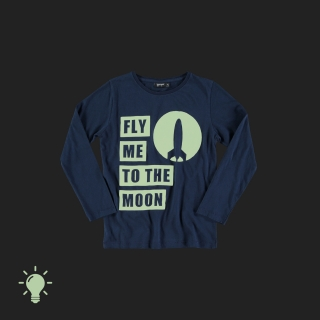 Fly me... Tee (navy)