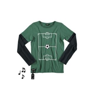 Goal Tee (green + black)