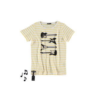 Guitars Tee (striped)