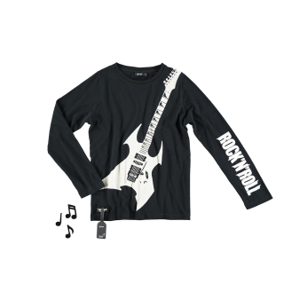 Heavy Guitar Tee (black)