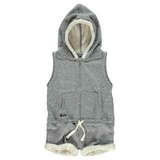 Hooded Jumpsuit (molted)