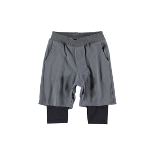 Layered Pants (anthracite + black)