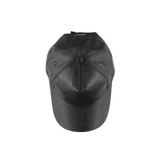 Leather Cap (black)