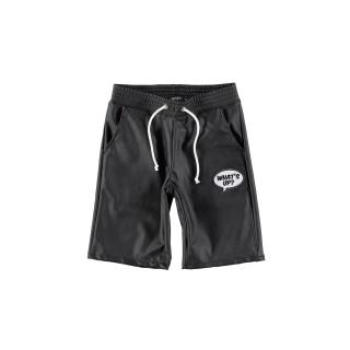 False Leather Pants (black)