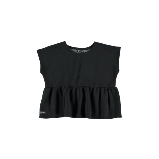 Peplum Sweater (black)