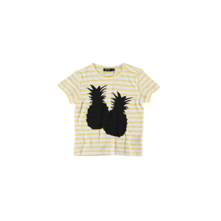 Pineapple Baby Tee (striped)