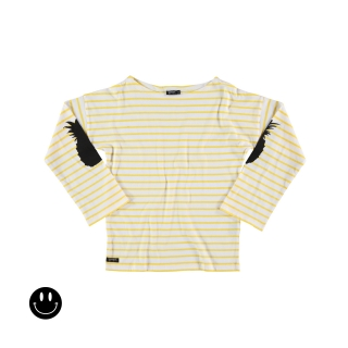 Pineapple Relaxed Tee (striped)