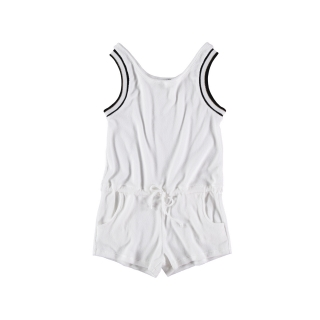 Towel Jumpsuit (white)