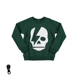 Ray Skull Sweater (green bottle)