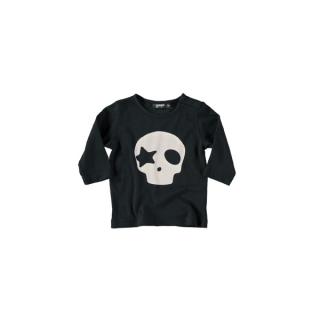 Skull Baby Tee (black)