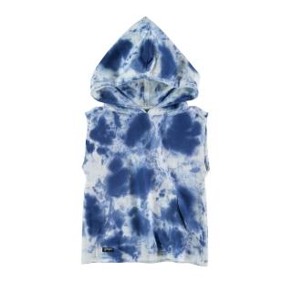 Sleeveless Hoodie (tie dye)