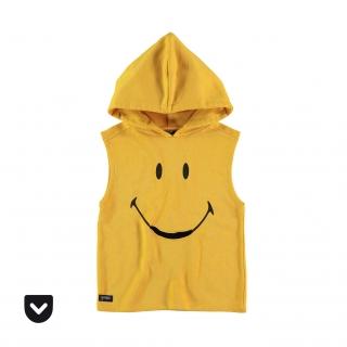 Smiley Pocket Hoodie (yellow)