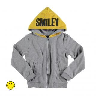 Smiley Playful Hoodie (melange)
