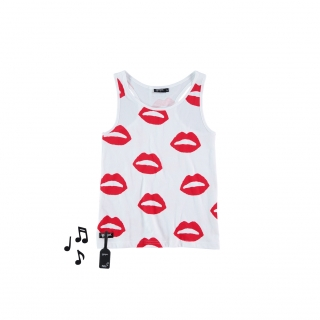 Kiss Vest Tee (sonido)