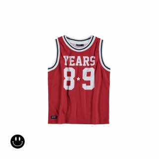 Years Vest Tee (red)