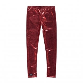 Metallic Leggings (red)