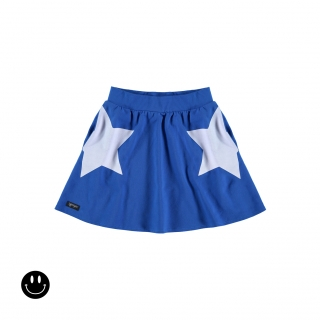Stars Skirt (primary blue)