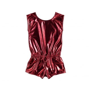 Metallic Jumpsuit (red)