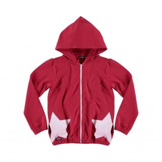 Stars Hoodie (red)