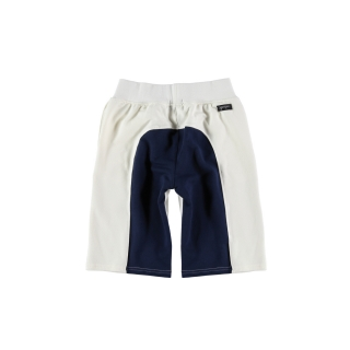 Surfer Short (cru + deep blue)