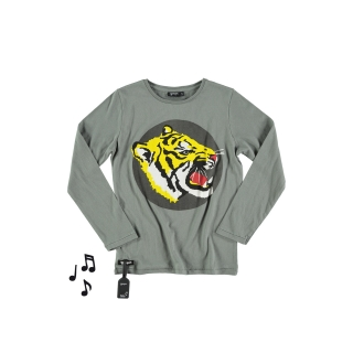Tiger Tee (anthracite)