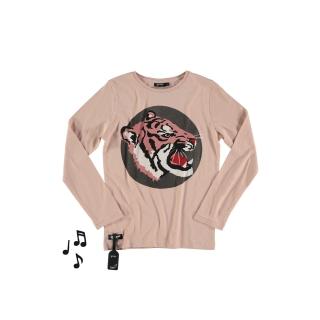Tiger Tee (rose)