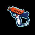 Pistola naranja