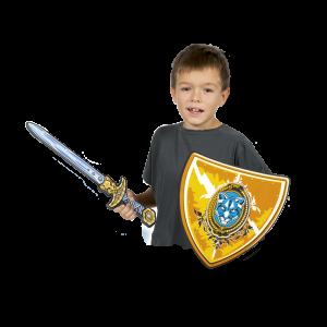 Pack espada y escudo de Caballero